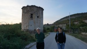 Село Чорноріччя (Севастополь), Чоргунська вежа
