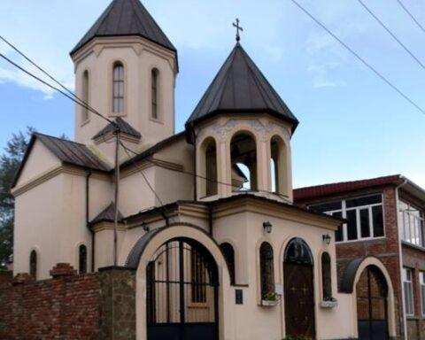 Церква святої Ніно у Керчі до окупації