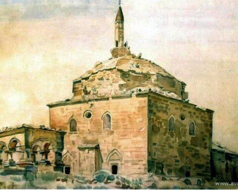 Мечеті південного сходу Криму на малюнках і літографіях