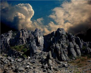 Valley of stone ghosts