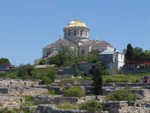 """Threats of loss of the world and Ukrainian heritage site """"Chersonesos of Tavria"""" as a result of Russian occupation"""
