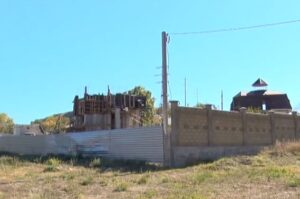 """Construction on the site of the """"historic complex"""""""