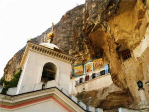 Crimean Lavra: on the border of two worlds