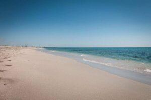 White sands of Belyaus