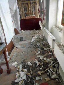 Sacrament and vandalism against the House of the Lord