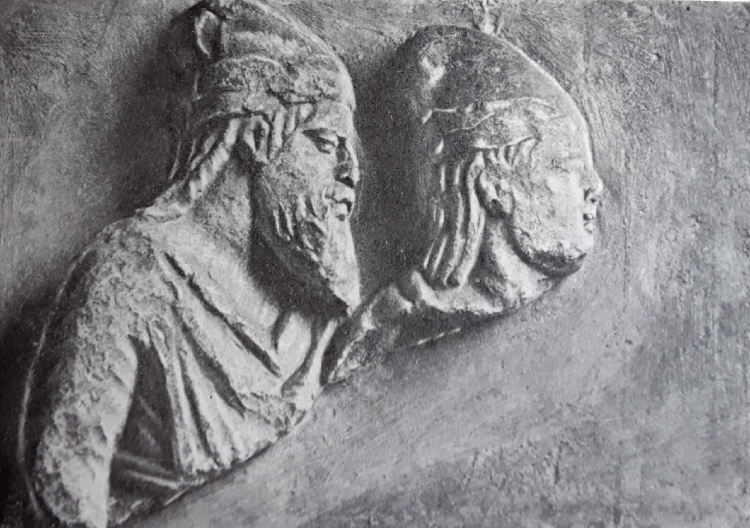 Relief with the image of Skilur and Pallak