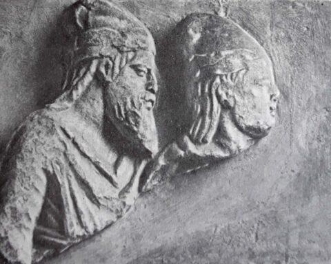 Рельєф із зображенням Скілура і Паллака