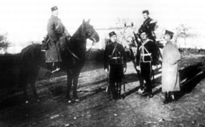 Officers of the Crimean Cavalry Regiment (squadrons), 1918