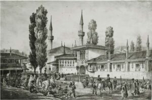 Bakhchisarai in the middle of the XIX century
