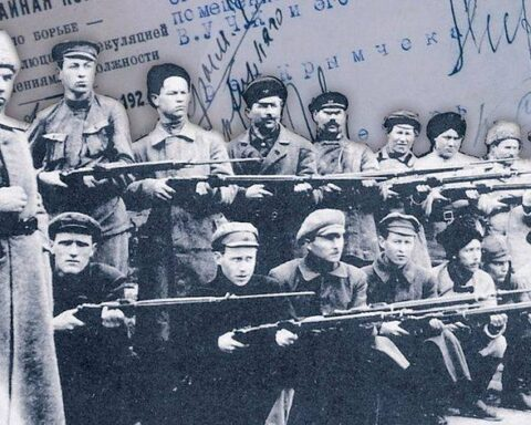 Структурування політичних сил на початку Російської революції