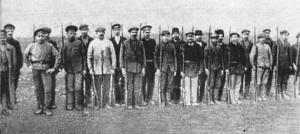 Red Guard detachment in Simferopol, March 1918