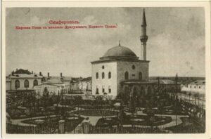 Royal grove with a mosque of the cavalry regiment in Simferopol