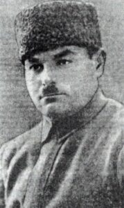 Veli Ibraimov, member of the Tatar-Muslim section of the Crimean regional committee of the RCP (b)