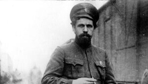 Pavlo Dybenko, in 1919 - Commander of the Crimean Army and People's Commissar for Military and Naval Affairs of the Crimean Soviet Republic