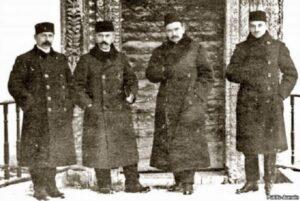 N. Chelebidzhikhan, S. Khattatov, AS Aivazov and J. Seidamet