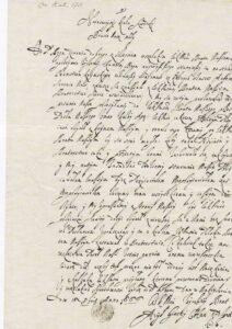 Лист кримського хана Аділ Гірея до шведського короля Карла ХІ Густава. 1666 рік.