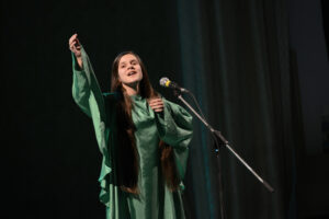 """Nomination """"Declamation"""", performance of the participant at the gala concert in Chernivtsi, 2017"""