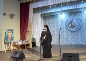 Welcoming speech by Archbishop Kliment, Poltava, 2019. Photo by Anatoliy Kowalski.