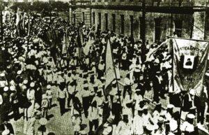 Ukrainian green holidays of 1917 in Sevastopol.