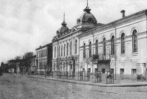 Natural History Museum of the Tavriya Provincial Zemstvo (1895-1917) in Simferopol, where Irinarkh Shchogoliv worked in 1911-1914 (now building 17 on Karl Marx Street)