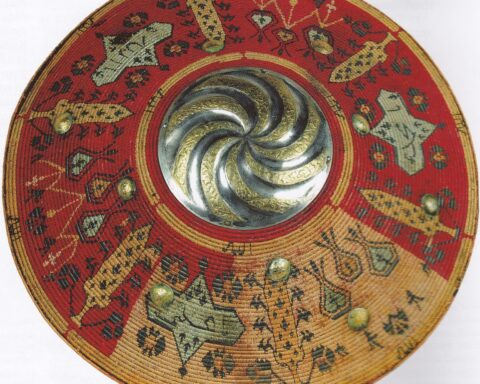 Shield of the Crimean Tatar soldier. 17th century. Lviv Historical Museum.