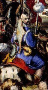 Crimean Tatar warrior. 1683. Drawing by R. de Hoge.