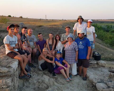 Останній кадр Археологічної експедиції – Тягинь 2020