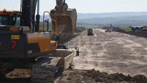 """Construction of the """"Tavrida route"""""""