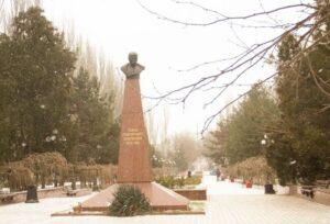 Monument to Taras Shevchenko in the city of Kerch