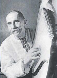 Євген Адамцевич: кобзар, що спочив у кримській землі