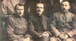 Members of the Communist Party of Turkey. Mustafa Subhi on the right. Source - wikipedia.org.