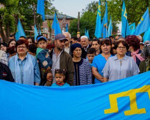 Кок байрак – один із нових символів боротьби за звільнення Криму