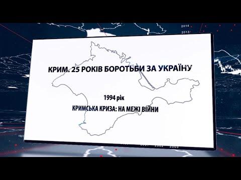 Крим. 25 років боротьби за Україну. Рік 1994. Кримська криза на межі війни