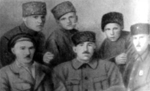 A group of commanders of the Crimean Red Army