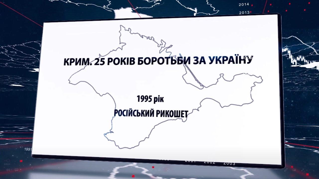 Крим. 25 років боротьби за Україну. 1995 рік. Російський рикошет
