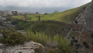Краєвид на фортецю в Судаку