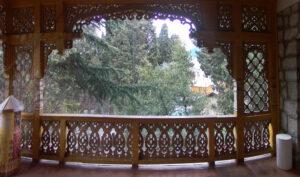 Вид з балкону музею Лесі Українки